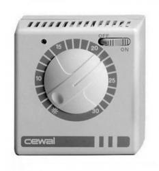 CEWAL RQ 05 Termostat, 230 V, 5-30°C s lampicom