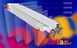 LIPOVICA SOLAR Aluminijski radijator, + 500/80