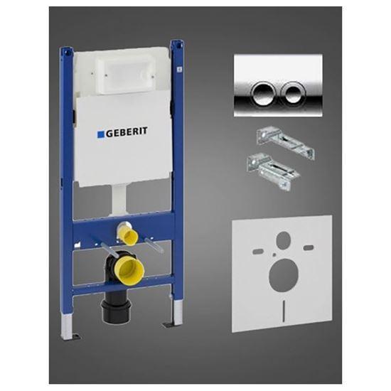 GEBERIT DUOFIX BASIC Montažni element za konzolni WC sa Delta21 tipkom