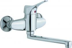 CISAL MITO3 jednoručna zidna slavina za sudoper krom