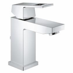 GROHE EUROCUBE Jednoručna miješalica za umivaonik 'S' veličine, sa piletom