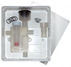 PVC sifon s podžbuknom kutijom i kuglicom
