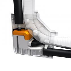 SAUERMANN DELTA PACK Set za montažu za odvod kondenzata