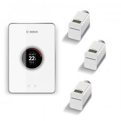 BOSCH EASYCONTROL CT200 Regulacijski uređaj, WiFi, W-LAN, u setu sa 3 termostata sa bežičnom vezom