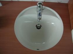 LAUFEN FIORA Umivaonik s rupom za miješalicu, 49x49 cm