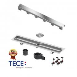 TECE DRAINLINE STEEL II Set, 700mm, 800mm, 900mm