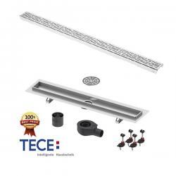 TECE DRAINLINE ORGANIC Set, 700mm, 800mm, 900mm