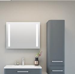CHARM, 45, 60, 80, 100 i 120x9x63 cm, ogledalo s integriranom rasvjetom, 2 trake