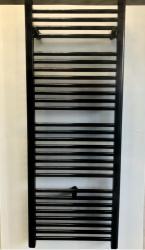 SAMCRO Kupaonski radijator ravni, 1315x500 mm, 993 W, sjaj crni