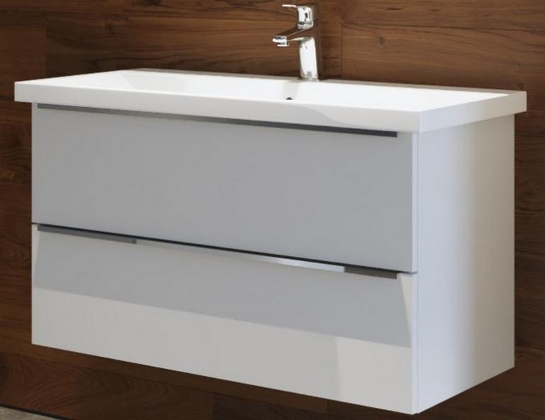 ARMAL IBIZA, 90x45x53.5 cm, viseća kupaonska baza s umivaonikom