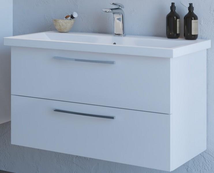 ARMAL SENA, 90x46x53.5 cm, viseća kupaonska baza s umivaonikom