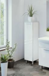 ARMAL NEVA, 30x35x132 cm, stojeæi kupaonski ormariæ, 1 vrata, bijela sjaj