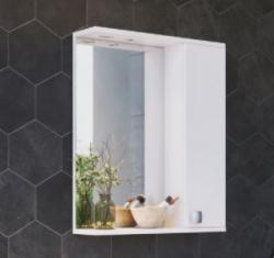 ARMAL SIMPLY, 60x16,7x72 cm, ogledalo s ormarićem desno
