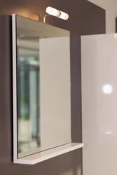 AQUAESTIL STELLA 50, 50x20x65 cm, ogledalo s etažerom, lampicom i prekidačem, razne boje
