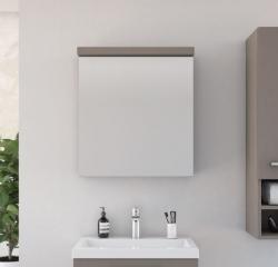 AQUAESTIL ASTRA, 60x22x67 cm, viseći ormarić, s ogledalom i LED rasvjetom, 1 vrata, desna/lijeva