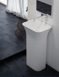AQUAESTIL TITAN SQUARE, 50x38x90 cm, samostojeći umivaonik