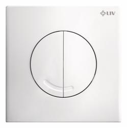 LIV OPAL DUO tipka za ispiranje za dvokoličinsko ispiranje, bijela