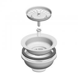 LIV Sifon za sudoper, izljevni, 115 mm
