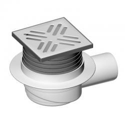 LIV Sifon podni, horizontalni, 105x105 mm