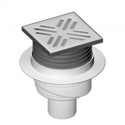 LIV Sifon podni, vertikalni, 105x105 mm