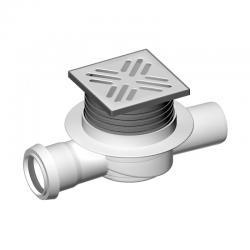 LIV Sifon podni, horizontalni, protočni, 105x105 mm