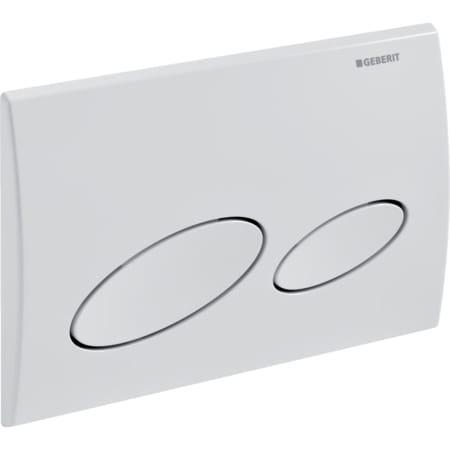 GEBERIT KAPPA 20 Aktivacijska tipka za WC, dvokolièinsko ispiranje