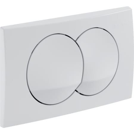 GEBERIT DELTA 20 Aktivacijska tipka za WC, dvokolièinsko ispiranje
