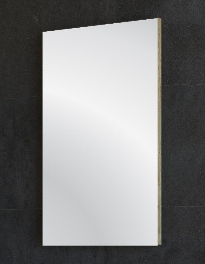 ARMAL PICCOLO Kupaonsko ogledalo; boja: hrast stari; 45 x 75 cm
